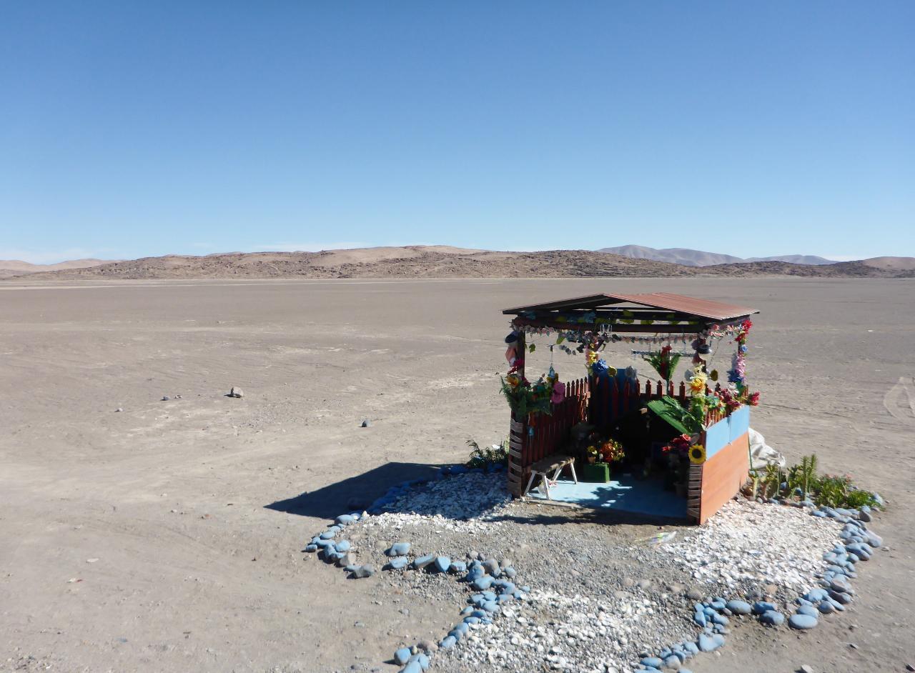A random desert shrine.