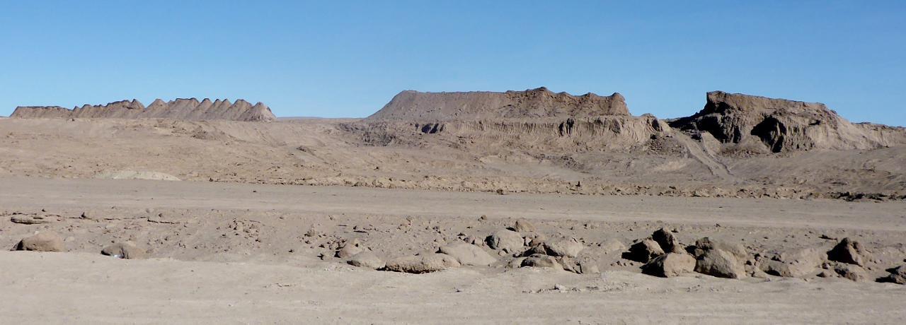 Random desert ruins.