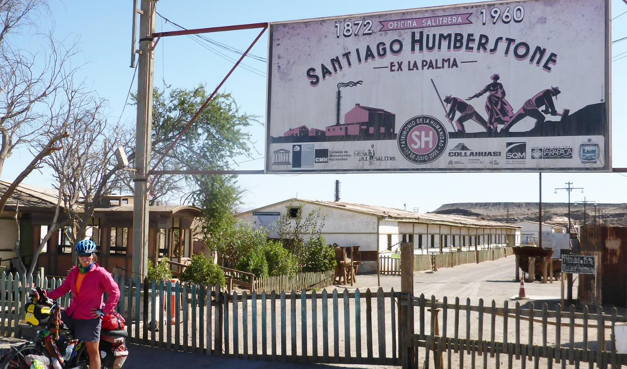 """An old ghost town. Fascinating. Named after an English engineer who perfected the saltpeter mining and production process here in Chile. His """"shanking"""" process purified the saltpeter."""