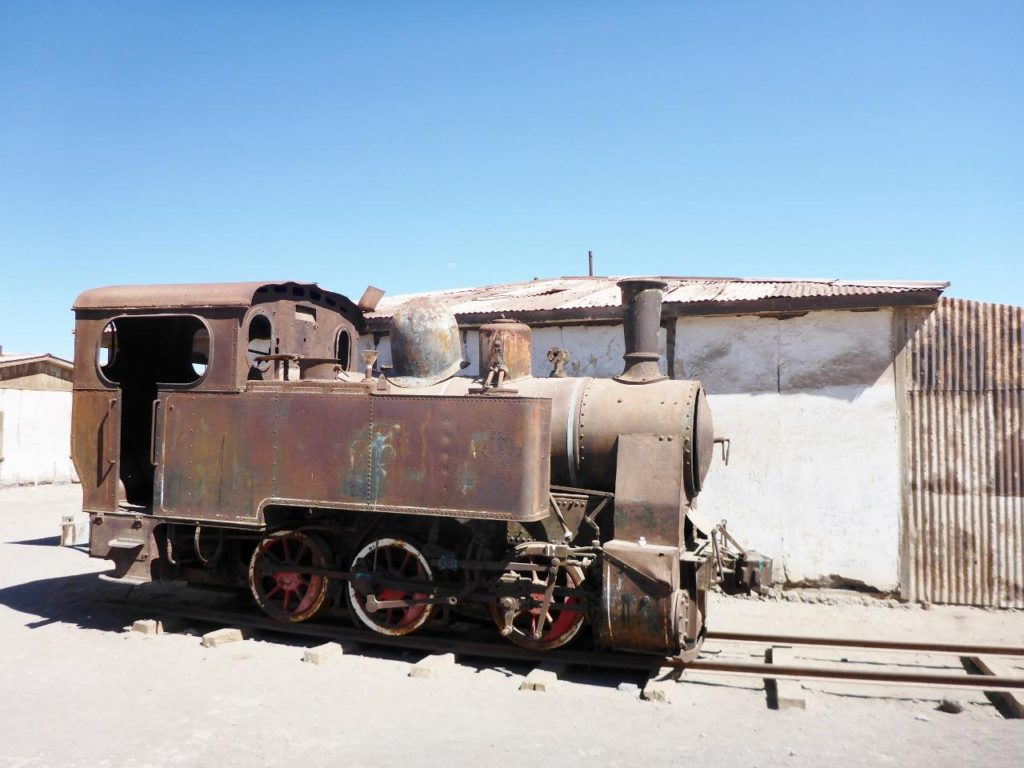 One of many old trains.