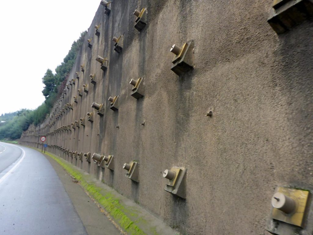 Quite a retaining wall.