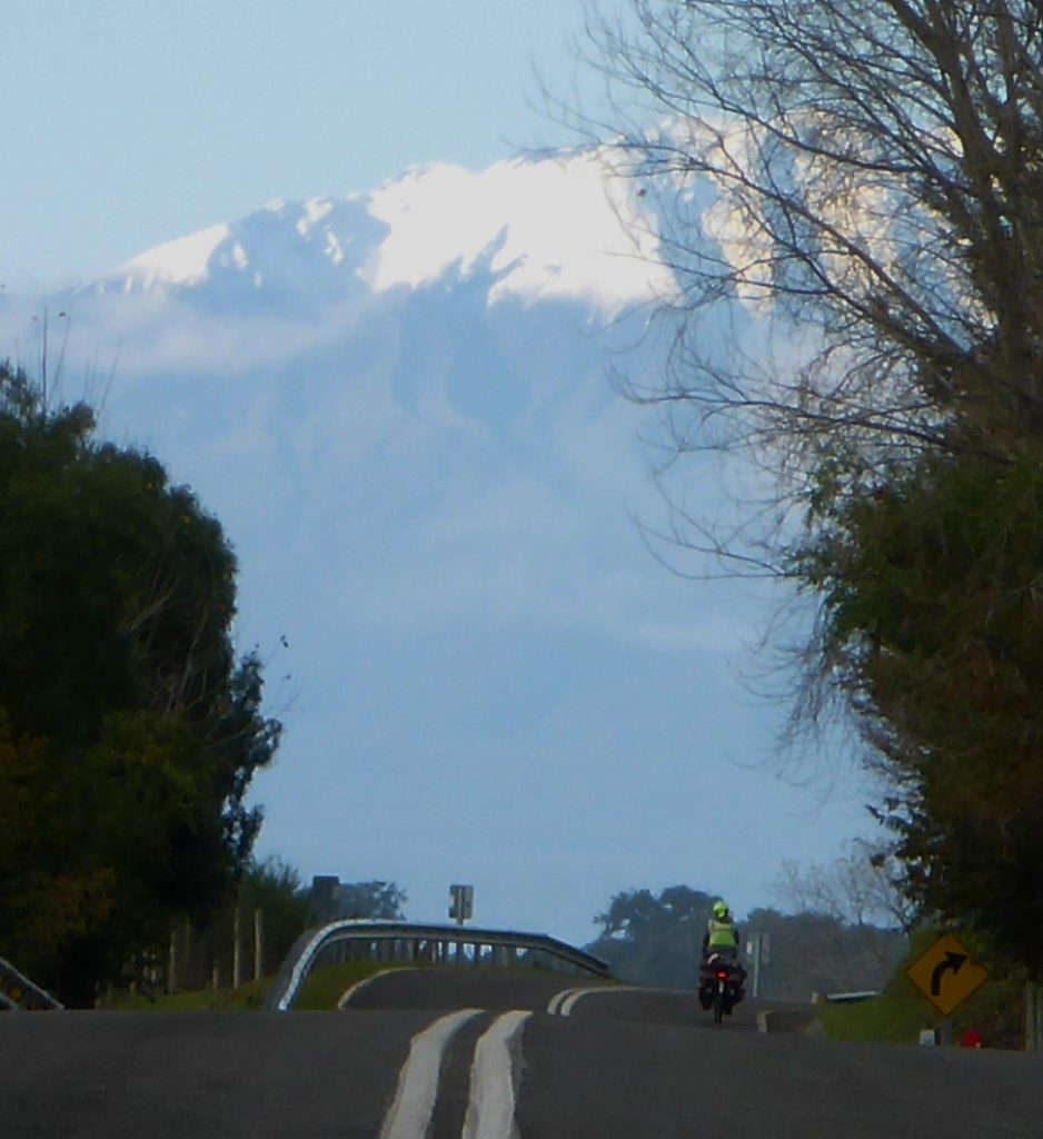 Volcan Calbuco.
