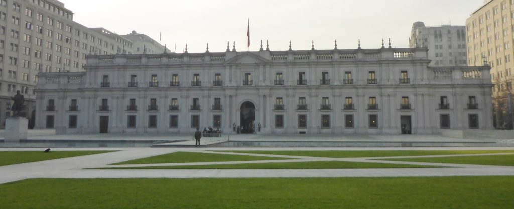 The Chilean White House.