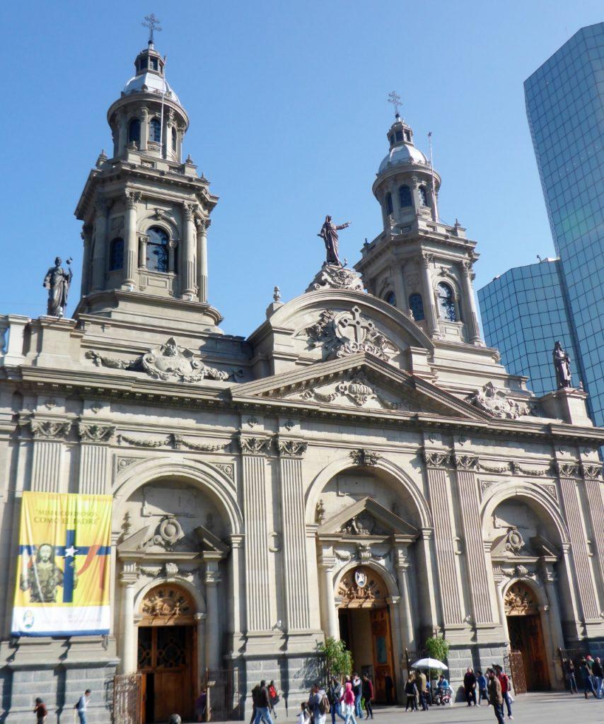 Santiago Metropolitan Cathedral.