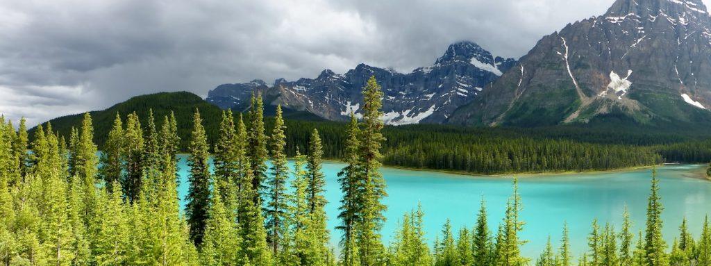 Banff is full of beautiful glacier lakes.
