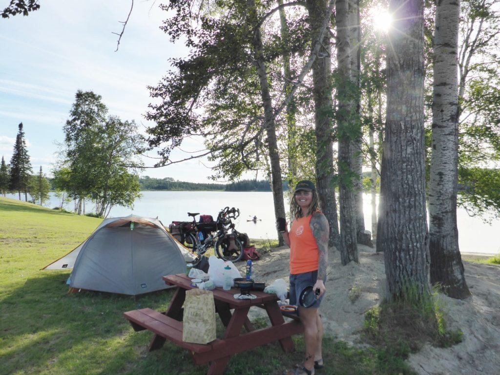 Lake Upsala.