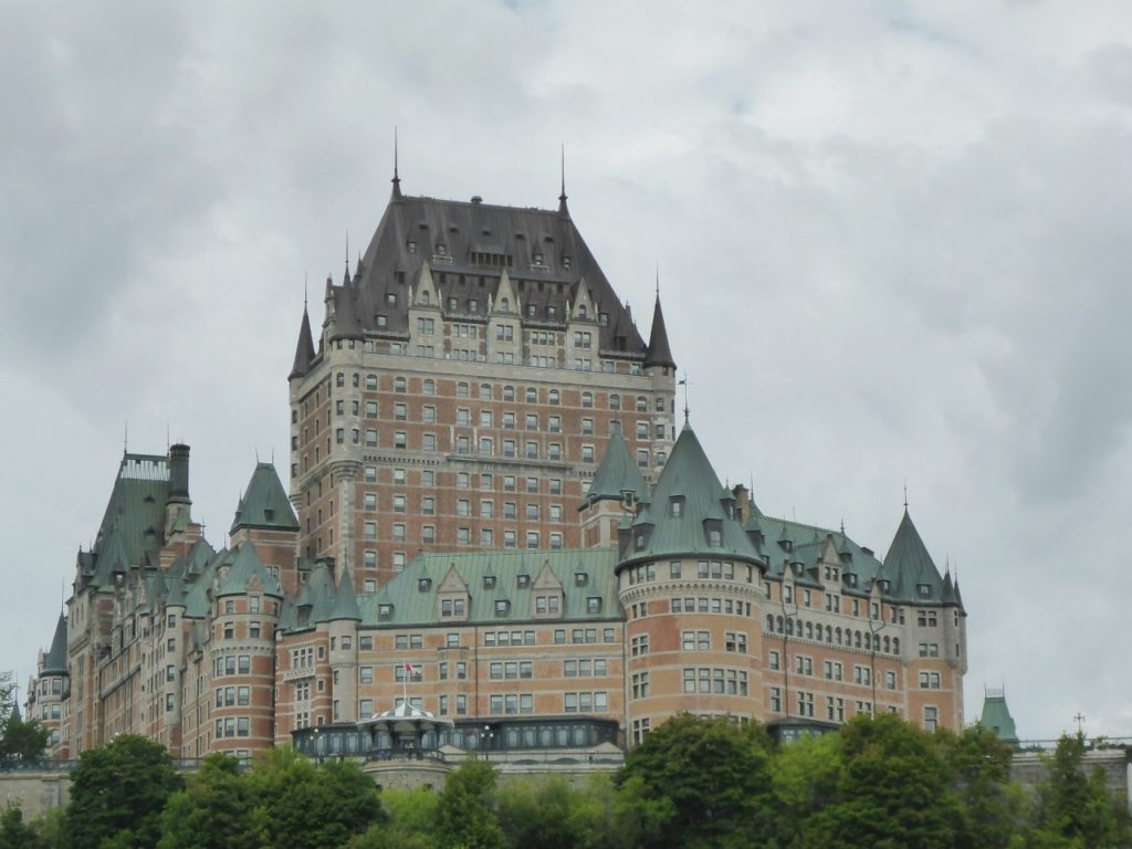 Hotel Chateau Frontenac.