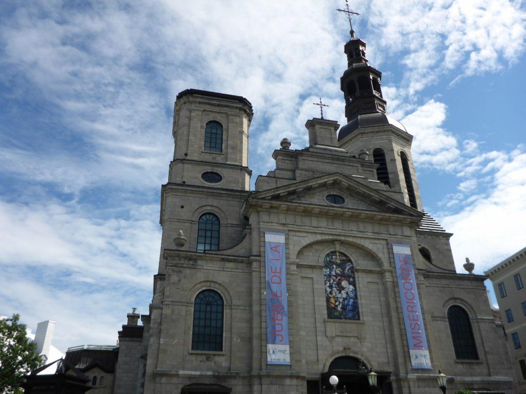 Cathedral-Basilica of Notre-Dame de Québec.