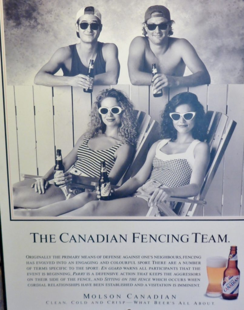 Cool Canadian Olympic poster.