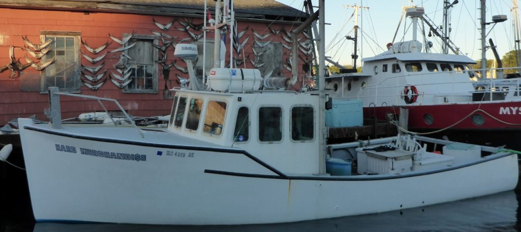 The Hard Merchandise tuna boat from one of our favorite shows National Geographic's Wicked Tuna.