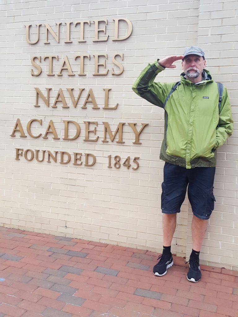 I spent 4 years in the navy.