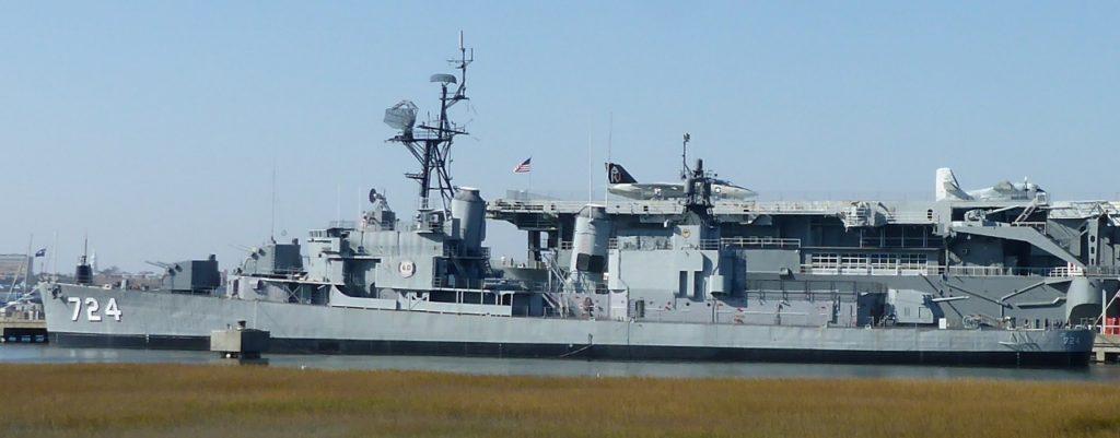 USS Laffey.