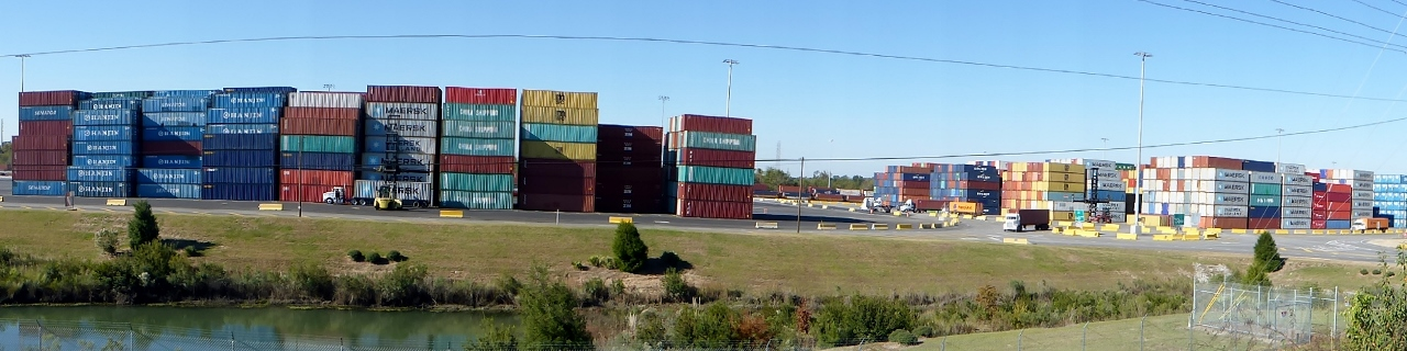 Savannah is a major container port.