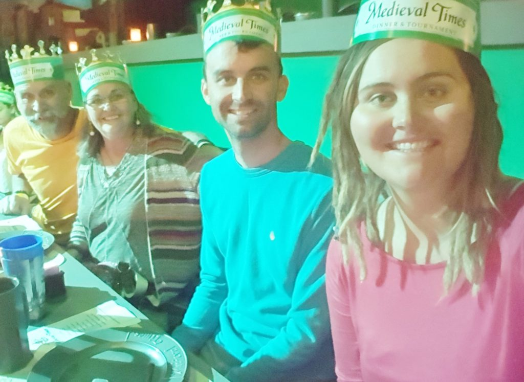 We had fun at Medieval Times in Myrtle Beach.