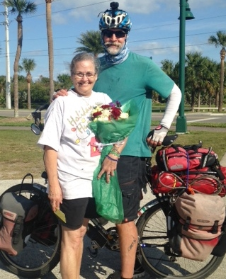 Thank you Andee for all of your support. It was Andee's birthday and Jocelyn bought her mom flowers on the way.