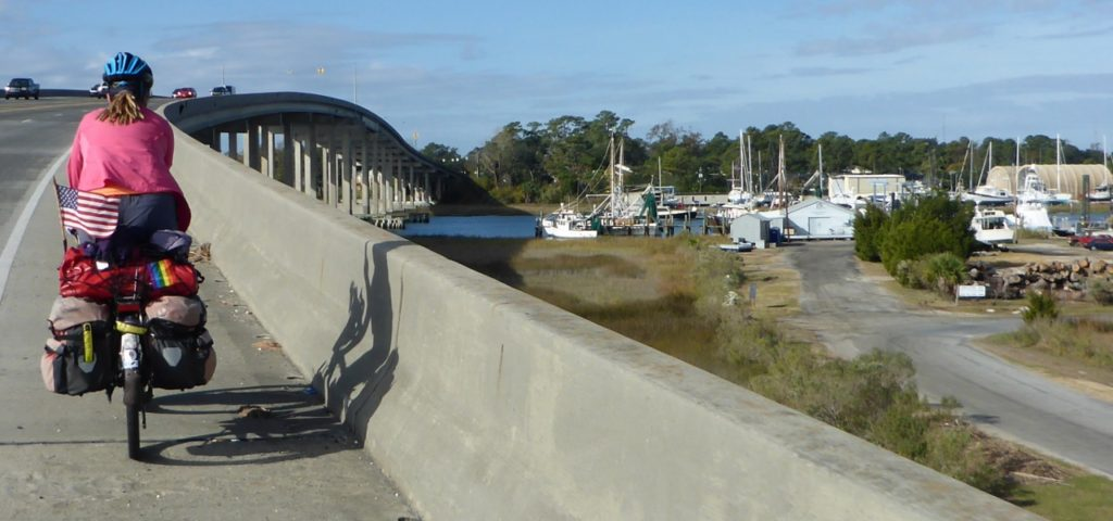 We have crossed over the Intracoastal Waterway many times.